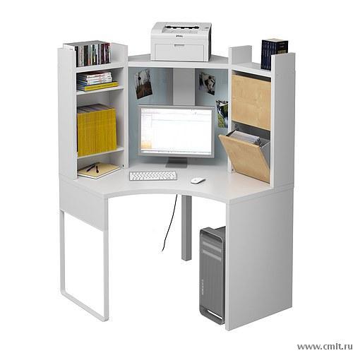 новый угловой компьютерный стол из икеа доска объявлений камелот