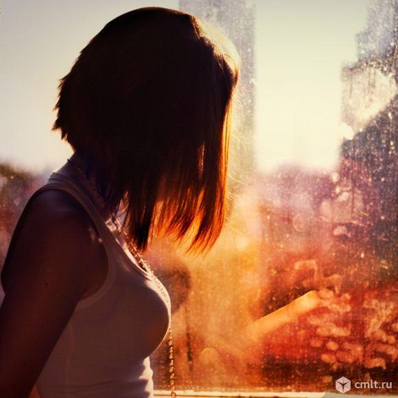 фотографии девушек со спины с короткими волосами