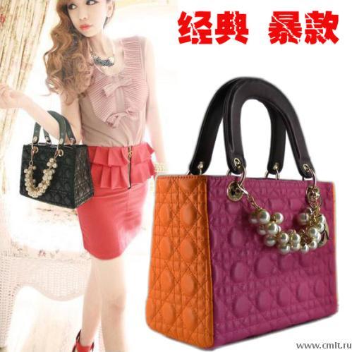 Продам сумку Dior (цветная, оранжево-сиреневая) — Доска объявлений ... b0373443bd8
