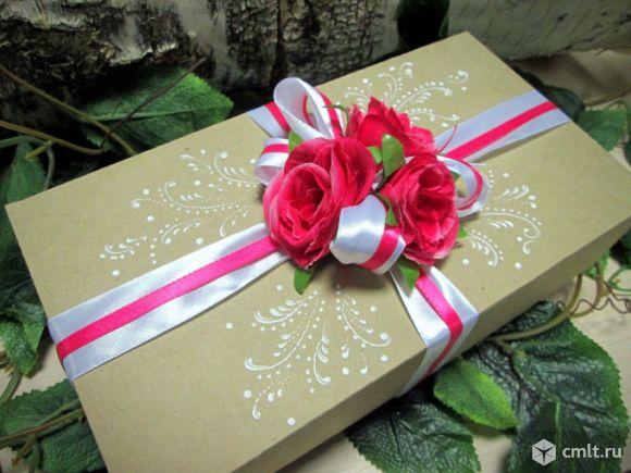 Упаковка подарка на свадьбу своими руками 6