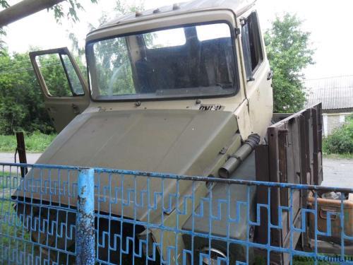 автомобиля ГАЗ-3307 и