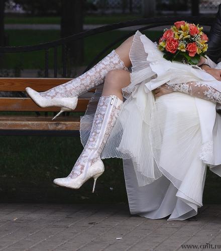 bcdc14f7c Продам кружевные свадебные сапоги — Воронеж — Доска объявлений Камелот