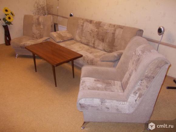 мягкий уголок диван кровать 2 кресла журнальный воронеж доска