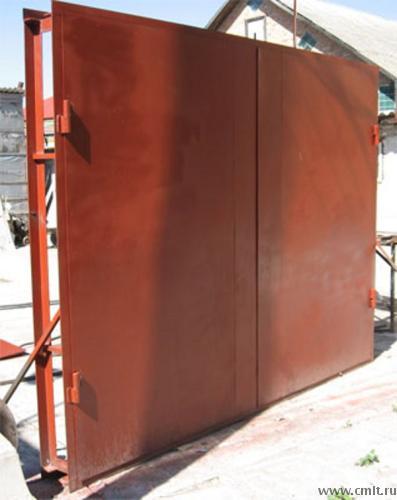 Ворота для гаража металлические