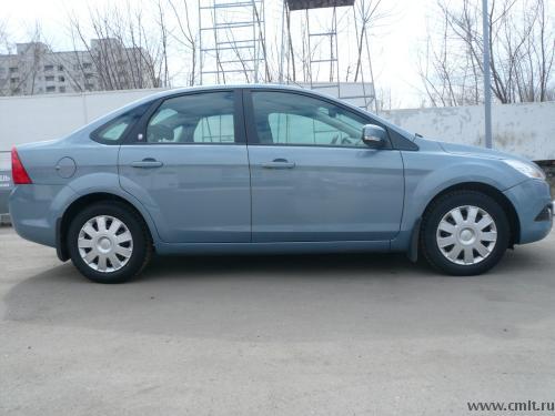 форд фокус 2 синий седан фото