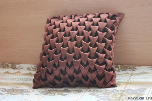 Диванные подушки буфы мастер класс