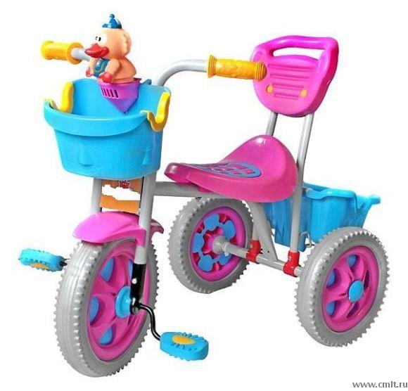 Велосипед трехколесный family