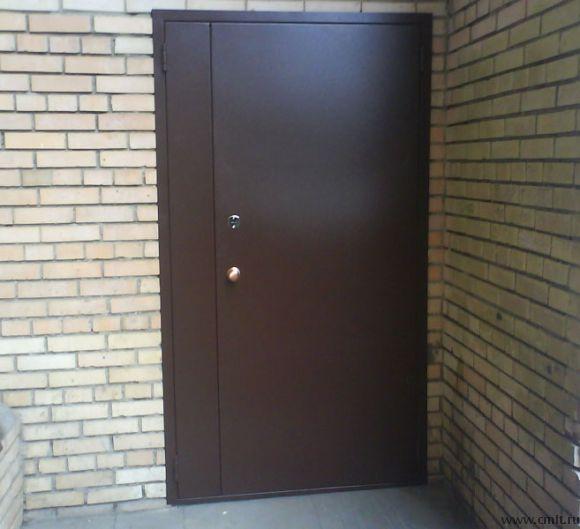 дверь стальная подъездная толщина